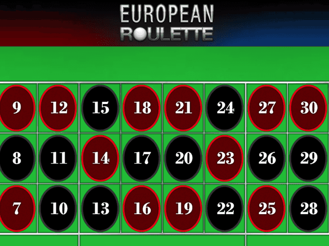 European Roulette by GAMING1